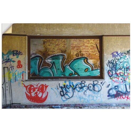 Artland Wandbild »Blick durchs Fenster«, Fenster & Türen (1 Stück)