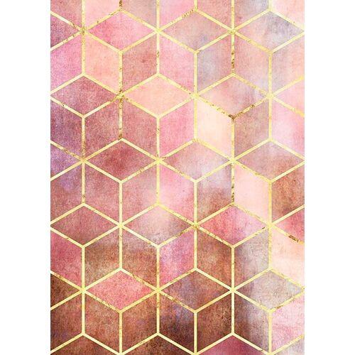 Komar XXL Poster »Mosaik Rosso«, bunt