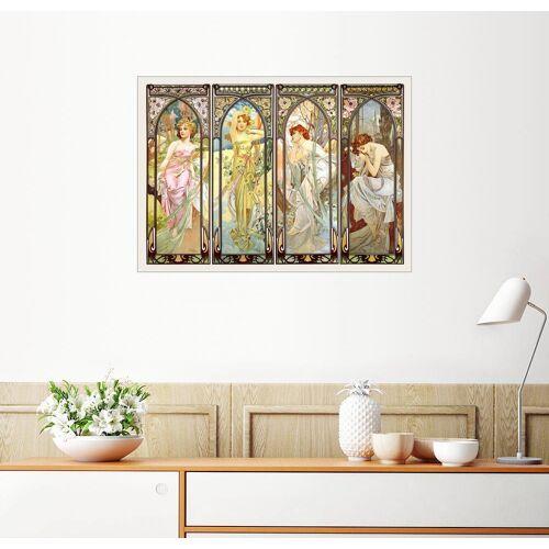 Posterlounge Wandbild, Les heures du jour (Die Tageszeiten)