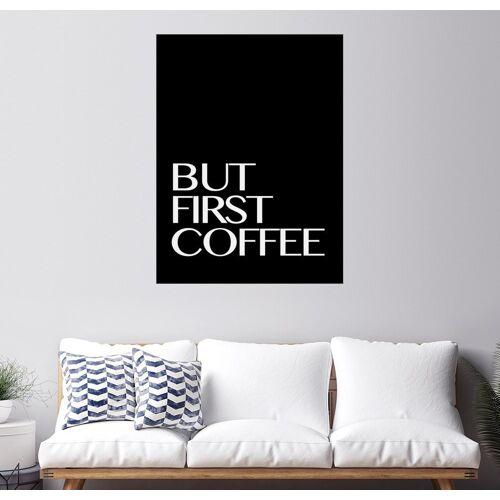 Posterlounge Wandbild, But First Coffee - Erstmal einen Kaffee III