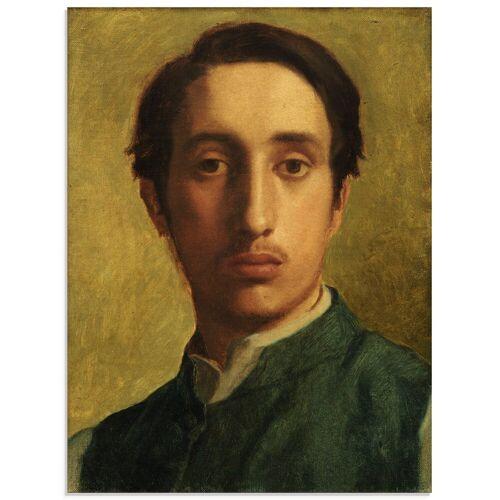 Artland Glasbild »Degas mit grüner Weste«, Menschen (1 Stück)
