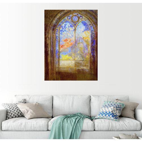 Posterlounge Wandbild, Kirchenfenster