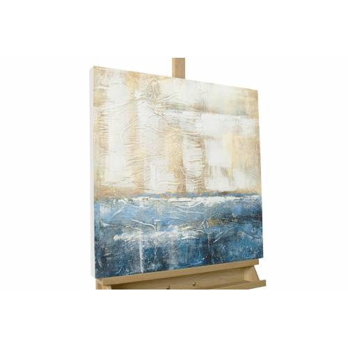KUNSTLOFT Gemälde »Insel der Hoffnung«, handgemaltes Bild auf Leinwand