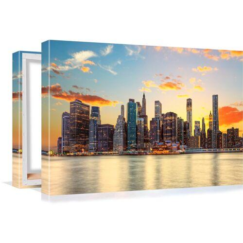 Conni Oberkircher´s Bild »Big City 3 - Sunset«