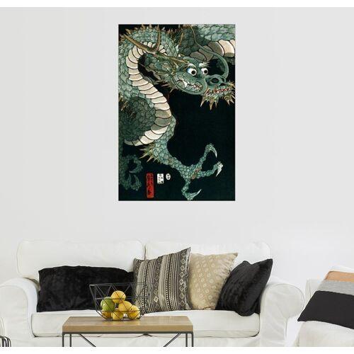 Posterlounge Wandbild, Ein Drache