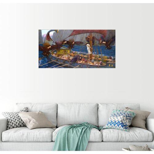 Posterlounge Wandbild, Odysseus und Sirenen