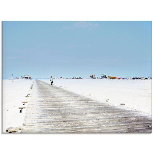 Artland Glasbild »Auf zum Strand«, Strand (1 Stück)