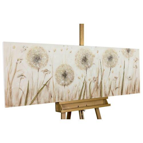 KUNSTLOFT Gemälde »Dandelion Meadow«, handgemaltes Bild auf Leinwand