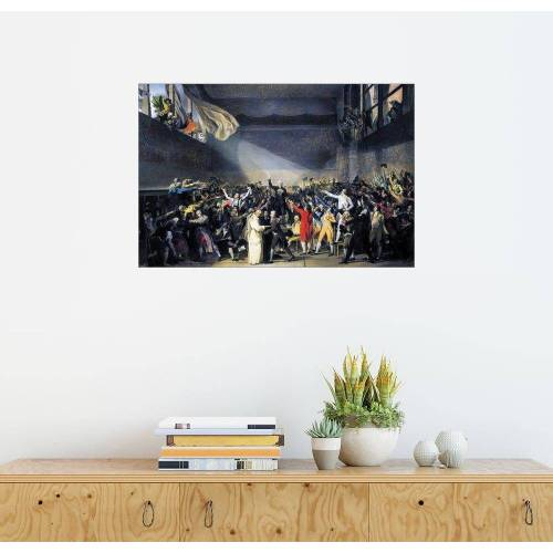 Posterlounge Wandbild, Ballhausschwur