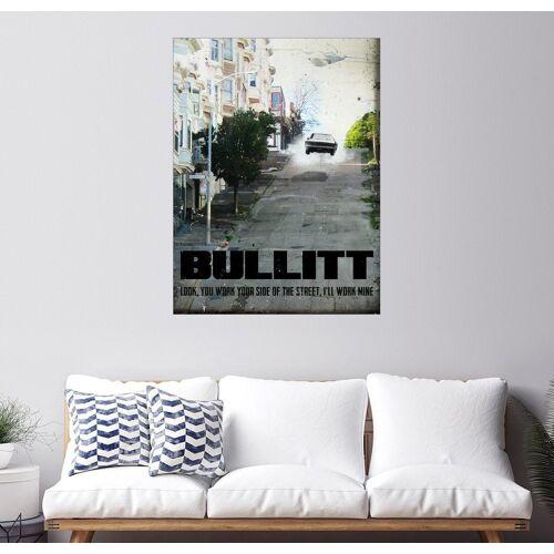 Posterlounge Wandbild, Premium-Poster Bullitt (Englisch)