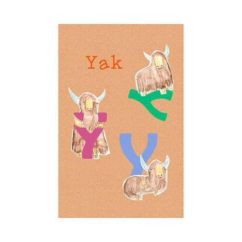 Komar XXL Poster »ABC Animal T«, bunt