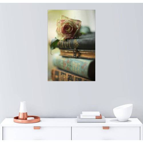Posterlounge Wandbild, Alte Bücher