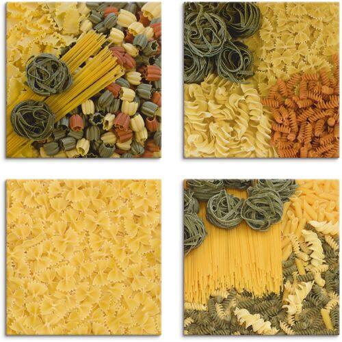 Artland Leinwandbild »Nudeln I bis IV«, Getreide (4 Stück)