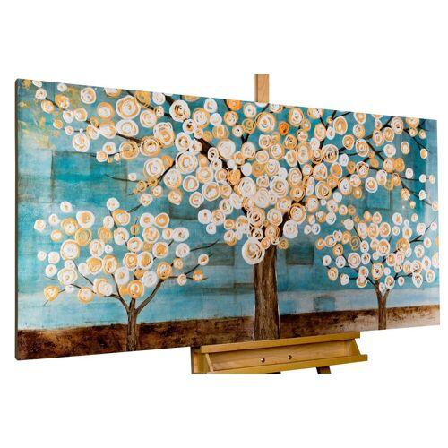 KUNSTLOFT Gemälde »Blaue Melancholie«, handgemaltes Bild auf Leinwand