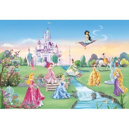 Komar Fototapete »Princess Castle«, 8-teilig, bunt