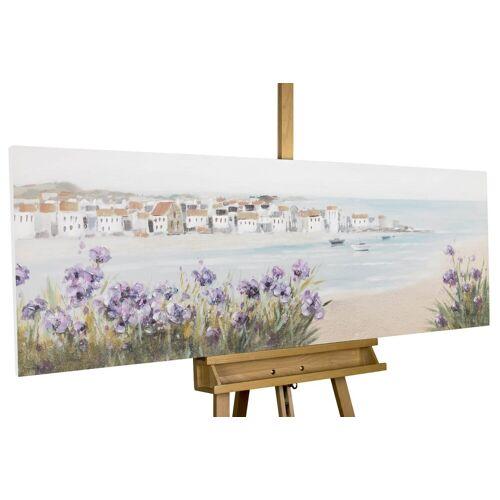 KUNSTLOFT Gemälde »Mediterraner Traum«, handgemaltes Bild auf Leinwand