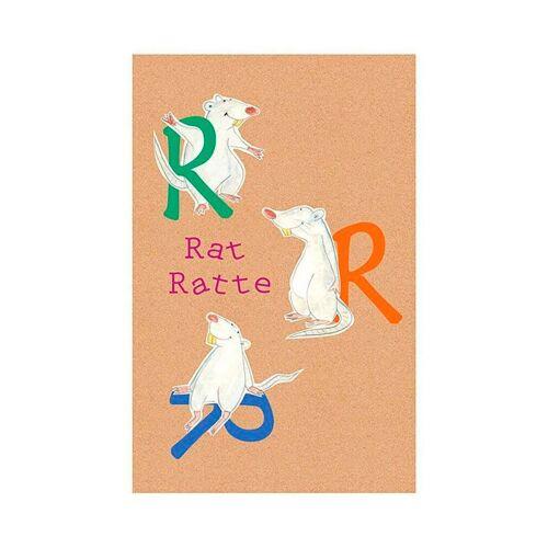 Komar XXL Poster »ABC Animal R«, bunt