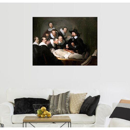 Posterlounge Wandbild, Die Anatomie des Dr. Tulp