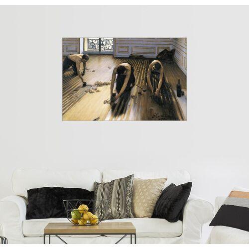 Posterlounge Wandbild, Die Parkettschleifer