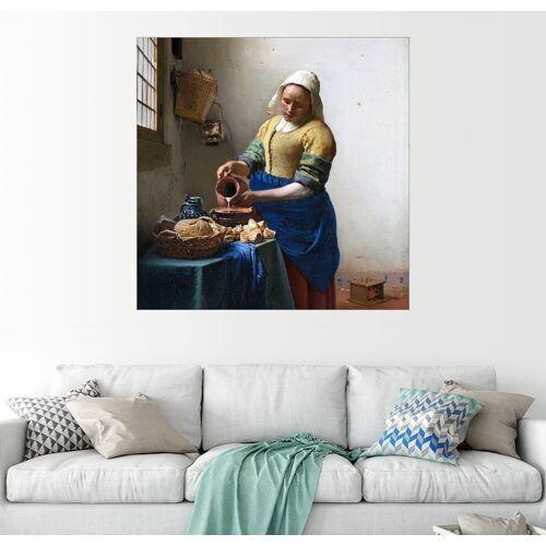 Posterlounge Wandbild, Das Milchmädchen