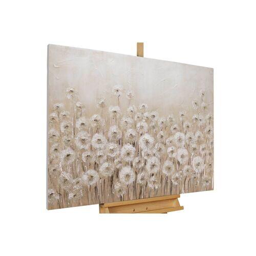 KUNSTLOFT Gemälde »Dandelion«, handgemaltes Bild auf Leinwand
