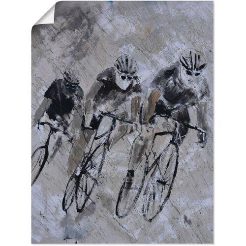 Artland Wandbild »Fahrrad fahren im Regen«, Fahrräder (1 Stück)
