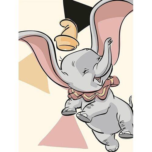 Komar XXL Poster »Dumbo Angles«, bunt
