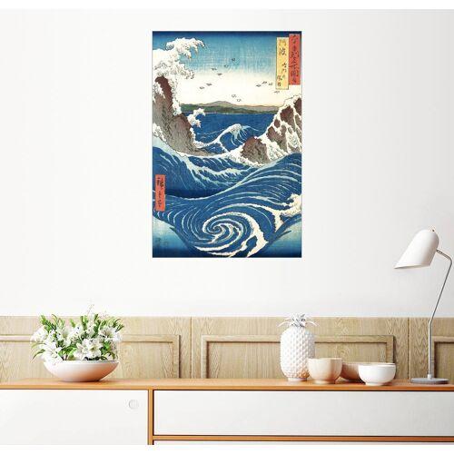 Posterlounge Wandbild, Ansicht der Naruto-Strudel bei Awa