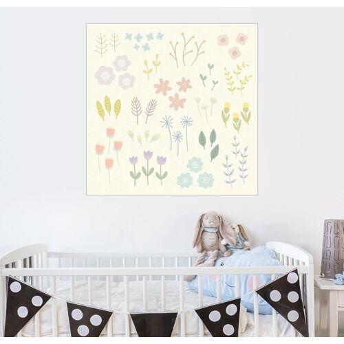 Posterlounge Wandbild, Gartenblumen
