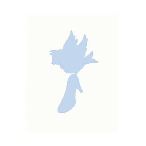Komar XXL Poster »Cinderella Bird«, blau