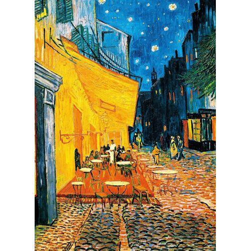 Idealdecor Fototapete »Terrasse de Cafe la Nuit«, (4 St), 183x254 cm