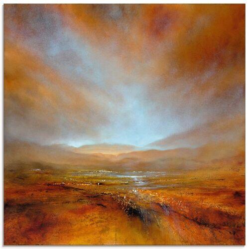Artland Glasbild »Herbstliches Licht«, Berge (1 Stück)