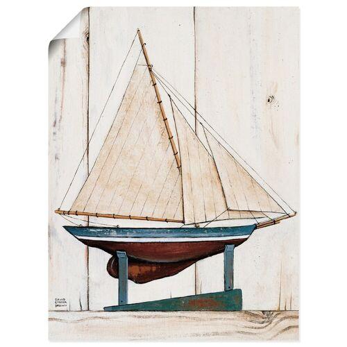 Artland Wandbild »Rennjacht«, Boote & Schiffe (1 Stück)