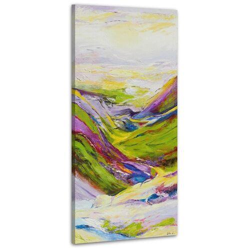 ART YS-Art Gemälde »Tal der Wünsche 124«