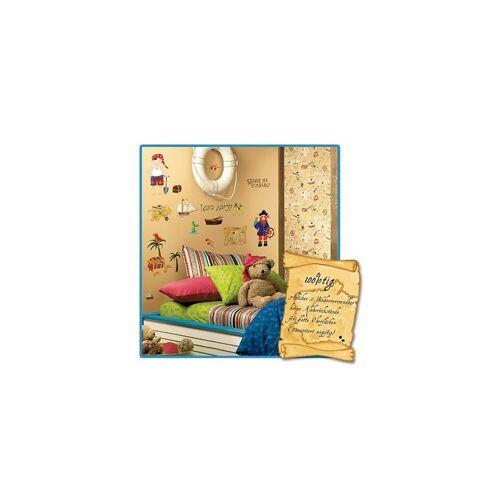 RoomMates Wandsticker »Wandsticker 45tlg. Kinderpiraten«