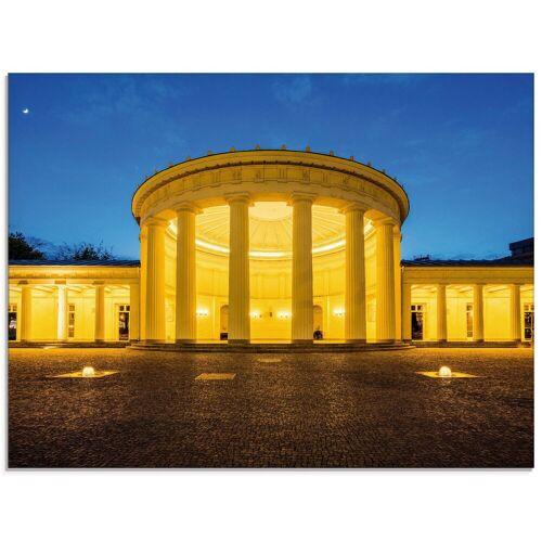 Artland Glasbild »Elisenbrunnen Aachen«, Gebäude (1 Stück)