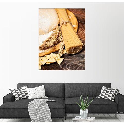Posterlounge Wandbild, Hausgemachte Nudeln