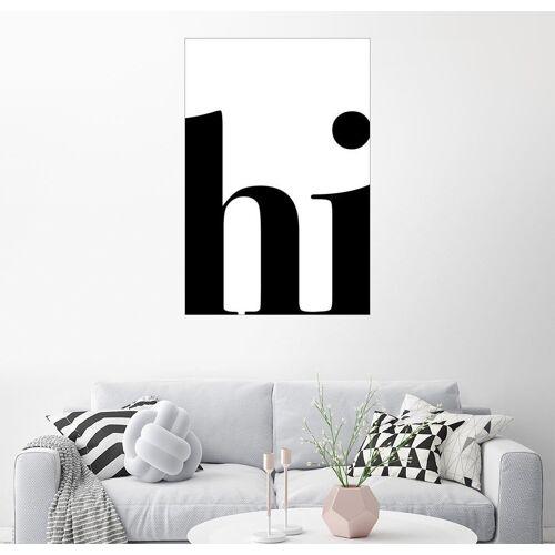 Posterlounge Wandbild, Hi-Typografie
