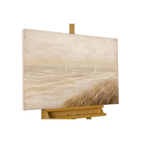 KUNSTLOFT Gemälde »Sehnsucht nach Meer«, handgemaltes Bild auf Leinwand