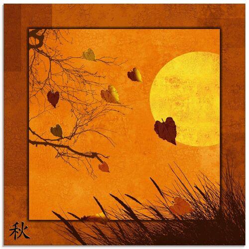 Artland Glasbild »Serie vier Jahreszeiten«, Vier Jahreszeiten (1 Stück)