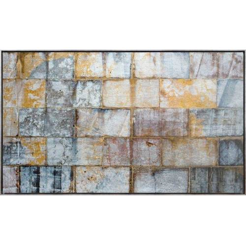 Leinwandbild »Quadrate Abstrakt - Leinwandbild«