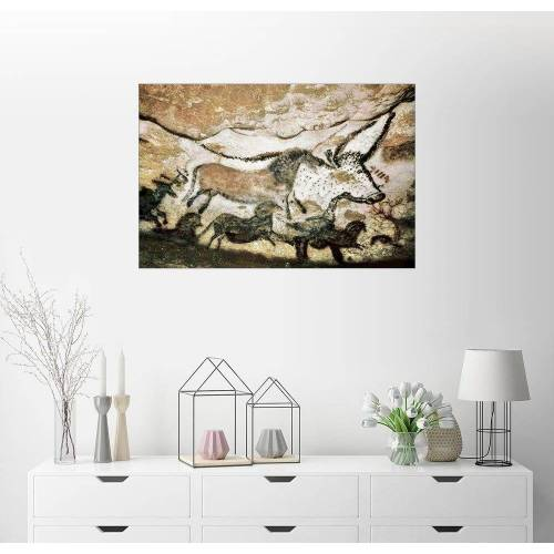Posterlounge Wandbild, Höhlenmalereien in der Höhle von Lascaux
