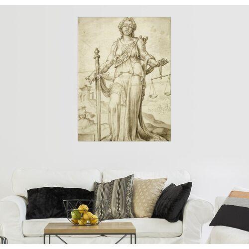 Posterlounge Wandbild, Acrylglasbild Justitia