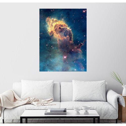 Posterlounge Wandbild, Galaxie im Kosmos