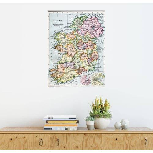 Posterlounge Wandbild, Freistaat Irland und Nordirland