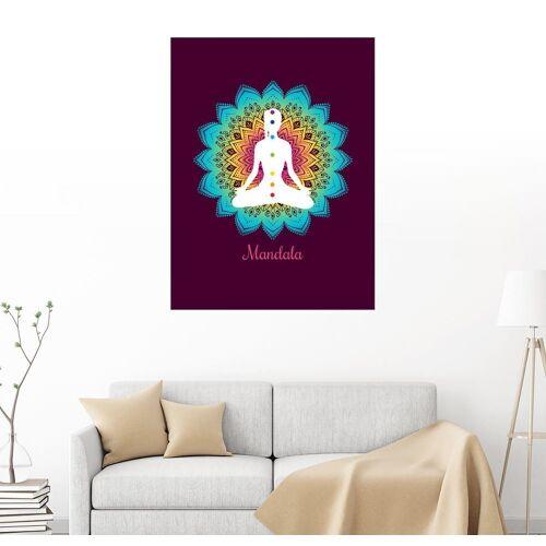 Posterlounge Wandbild, Mandala