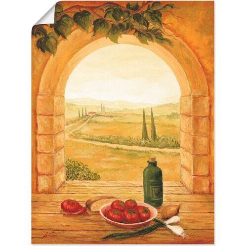 Artland Wandbild »Fensterblick«, Fensterblick (1 Stück)