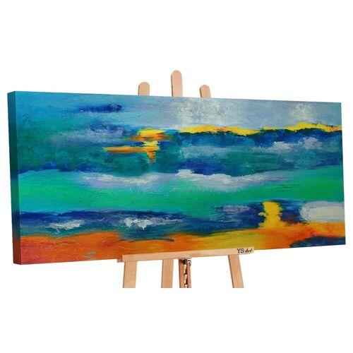 ART YS-Art Gemälde »Horizont 069«