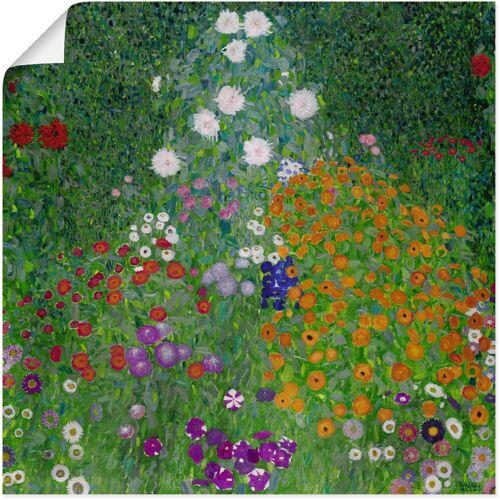 Artland Wandbild »Bauerngarten. 1905-07«, Blumenwiese (1 Stück)