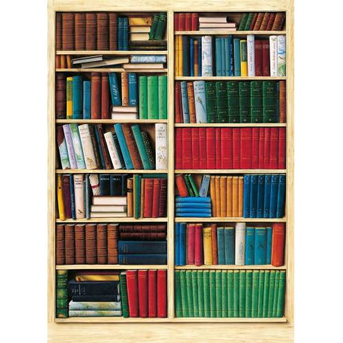 Idealdecor Fototapete »Bibliotheque«, (4 St), 183x254 cm